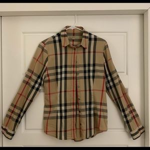 Women's Burberry shirt